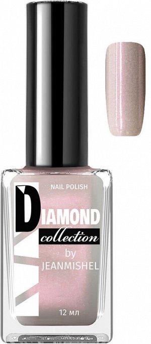 DIAMOND Лак для ногтей 542 Бело-серый с розовым перламутровый 12мл / 24шт/