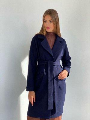 Пальто new cocoon в синем цвете