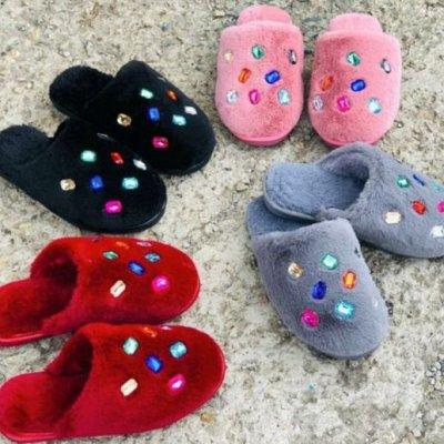 ☼ Ваша обувь- Осень-Зима! ☼ Большая распродажа! ☼ — Тапочки женские — Тапочки