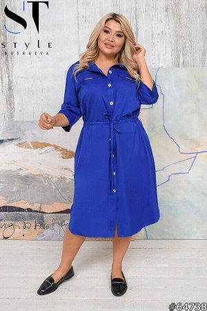 Платье-рубашка 64738