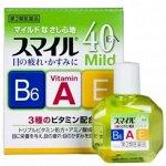 Капли для глаз витаминизированные 40 ЕХ MILD, 12 мл