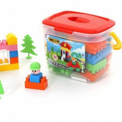 Полесье. Любимые игрушки из пластика. Успеем до повышения — Конструктор Строитель — Конструкторы и пазлы