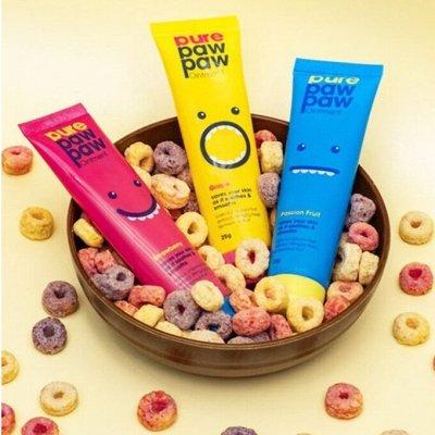 Рекомендую! Сухие шампуни Batiste и Colab + уход   — Pure Paw Paw бальзамы для губ (Австралия) — Для губ
