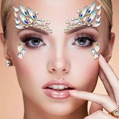 Всё что нужно каждый день! Лучшее от японского бренда SAYURI — Стразы и наклейки для лица, тела. Создай неповторимый образ! — Карнавальные товары
