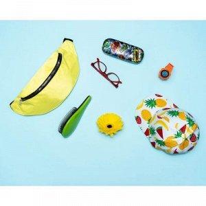 Расческа массажная с ручкой, профессиональная, 7х18см, пластик ABS, 4 цвета