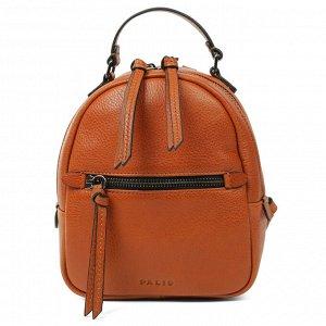 Маленький женский рюкзак Palio песочно-коричневого оттенка из натуральной кожи
