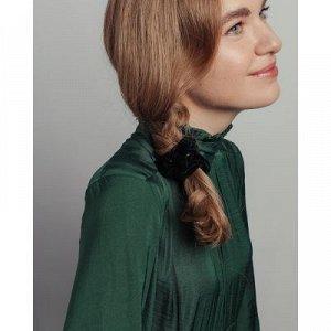 BERIOTTI Резинка для волос бархат, d6см, полиэстер, 6 цветов, арт.205
