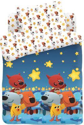 Детский комплект постельного белья Ми-ми-мишки