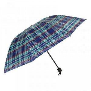 Зонт женский, механика, сплав, пластик, полиэстер, длина 55см, 8 спиц, 4-6 цветов,305G