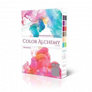 """Пододеяльник двойной на молнии 143х215 """"Unison"""" Color Alchemy, цв. фиолетовый/графит (трикотаж)"""