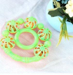 Погремушка Двухцветная погремушка размер:на фото