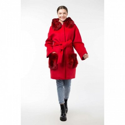 Войди в осень ярко! Ваше новое пальто! — НАТУРАЛЬНЫЙ МЕХ — Пальто