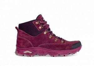Ботинки женские TREK Tina3 бордовый (текстиль)