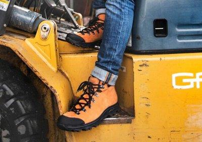 Обувь TREK - обувь для свободных духом — Мужская обувь осень зима — Кожаные
