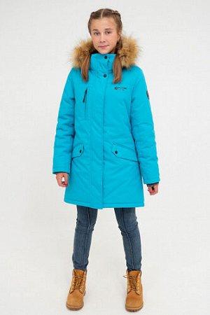 Куртка зимняя. Цвет Серо-голубой