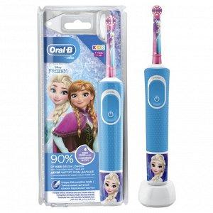 Орал-Би Щетка Зубная Электрическая Для Детей От 3 Лет Frozen Тип 3710 С Зарядным Устройством Тип 3757