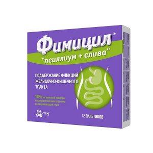 Псиллиум+Слива Фимицил Пор. Для Приема Внутрь Пак. 5Г №12 (Бад)