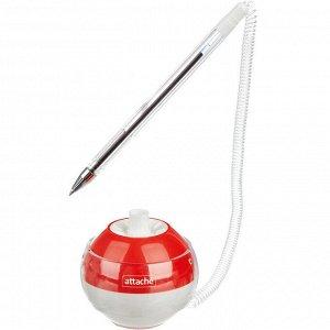 Ручка шариковая на подставке Attache Orbit, синий