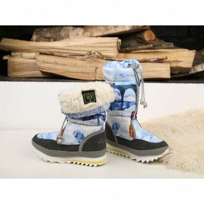 Дутики King Boots. Тепло и практично для Детей. Кеды+Сандали