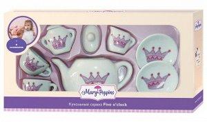 "Mary Poppins. Набор фарф. посуды ""Корона"" 9пр. арт.453016"