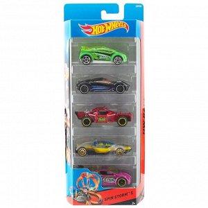 """Mattel. """"Hot Wheels"""" Набор подарочный из 5 машинок в асс. арт.01806 в асс-те"""