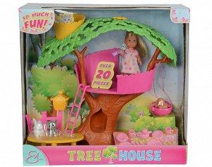 """Evi.5734881 Кукла Еви, набор """"Домик на дереве"""", высота 32 см., 12 см. 1/6"""