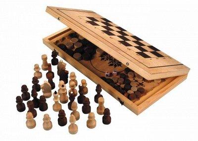 Нескучные Игры и развивашки- Огромный выбор подарков! (26.06 — 65.15 Нарды, Шахматы (дерево)