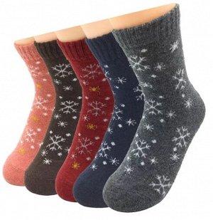 Детские шерстяные носки для девочки
