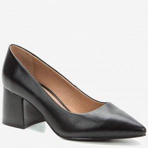 908014/01-01 черный иск.кожа женские туфли