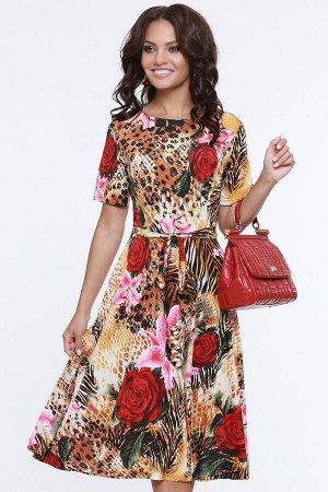 Платье Неповторимая, роуз
