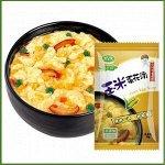 Суп с кукурузой и яйцом быстрого приготовления