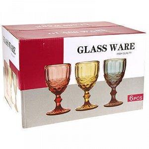 """""""Виши"""" Бокал стеклянный 320мл, д8,6см, h17см, для воды, набо"""