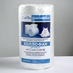 Рулончики для одеял холлофан 2м*2м Х300