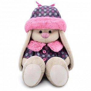 Мягкая игрушка «Зайка Ми» в пальто и шапке, 18 см