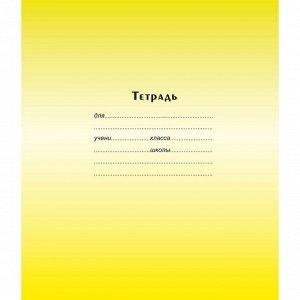 Тетрадь школьная А5 12л,косая линия,скрепка Градиент ТШ12К9183/6 ...
