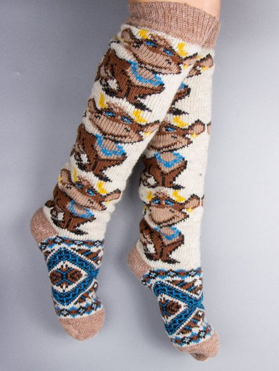 ТМ *РусБубон*. Зима, Демисезон, Новиночки — Женские шерстяные носки — Носки