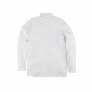 Водолазка Количество в упаковке: 1; Артикул: BN-212Ш-217; Цвет: Белый; Ткань: Футер 2-х нитка; Состав: 100% Хлопок; Вес- от: 125 г.; Цвет: БелыйСкачать таблицу размеров