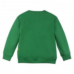 Свитшот ДМ Количество в упаковке: 1; Артикул: BN-203О20-461; Цвет: Зелёный; Ткань: Футер 3-х нитка; Состав: 100% Хлопок; Цвет: Зелёный | Зелёный Скачать таблицу размеров