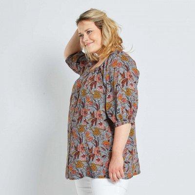 Французская одежда для всей семьи. Зимняя РАСПРОДАЖА ДО -70% — Большие размеры для женщин. Рубашки, блузки, футболки, топы —