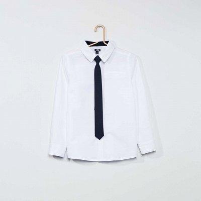 Французская одежда для всей семьи. Зимняя РАСПРОДАЖА ДО -70% — Мальчики 4-12 лет. рубашки, футболки — Для мальчиков