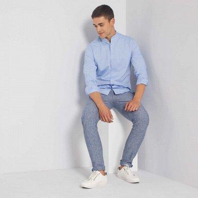 Французская одежда и обувь. Межсезонная РАСПРОДАЖА ДО -50% — Мужчины s-xxl. Верха: рубашки, футболки — Одежда