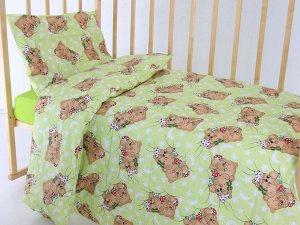 """Комплект постельного белья """"Мишки 2"""" Ясли"""