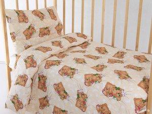 """Комплект постельного белья """"Мишки"""" Ясли"""