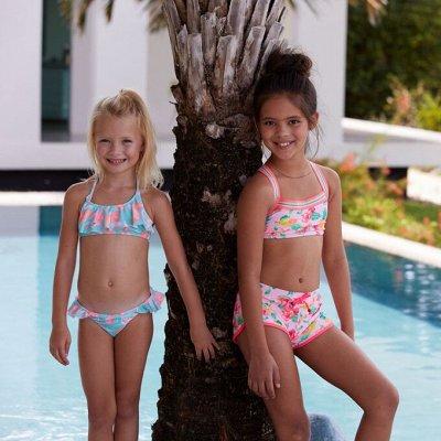 Выпускные и праздничные платья. Детская одежда — Купальники детские и аксессуары для пляжа — Купальники
