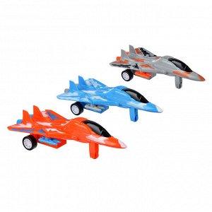 Самолет инерционный со складными крыльями,