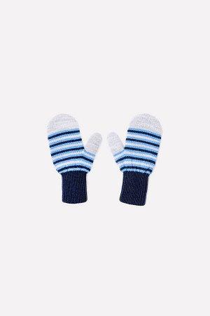 Варежки для мальчика Crockid К 147/ш темно-синий, темно-голубой