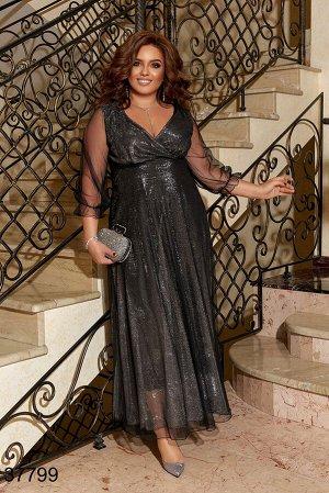 Вечернее платье-37799