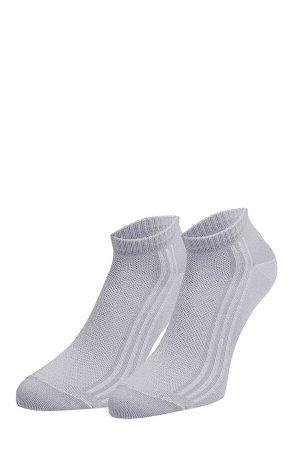 Носки мужские Укороченные, с имитацией ажура в виде сетки.