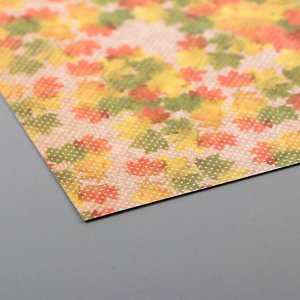 """Набор бумаги для скрапбукинга (24 листов) """"Старый парк"""" 15х15 см"""