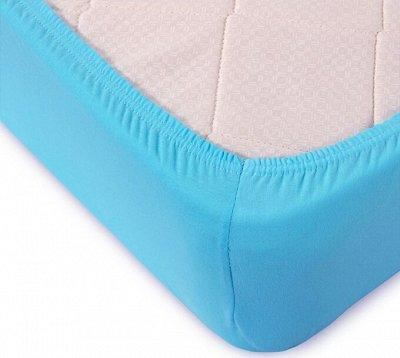 Шикарный текстиль от AVICTORY - 3 — Простыни на резинке трикотажные Авиктори — Простыни на резинке
